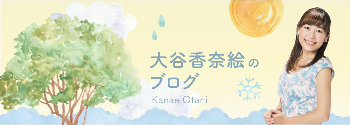 大谷アナ ブログ(大谷 香奈絵のブログ)