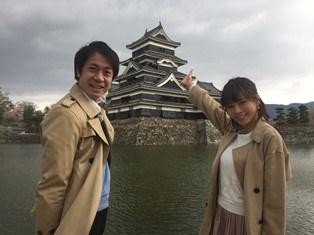 釈さんと松本城にて.JPG